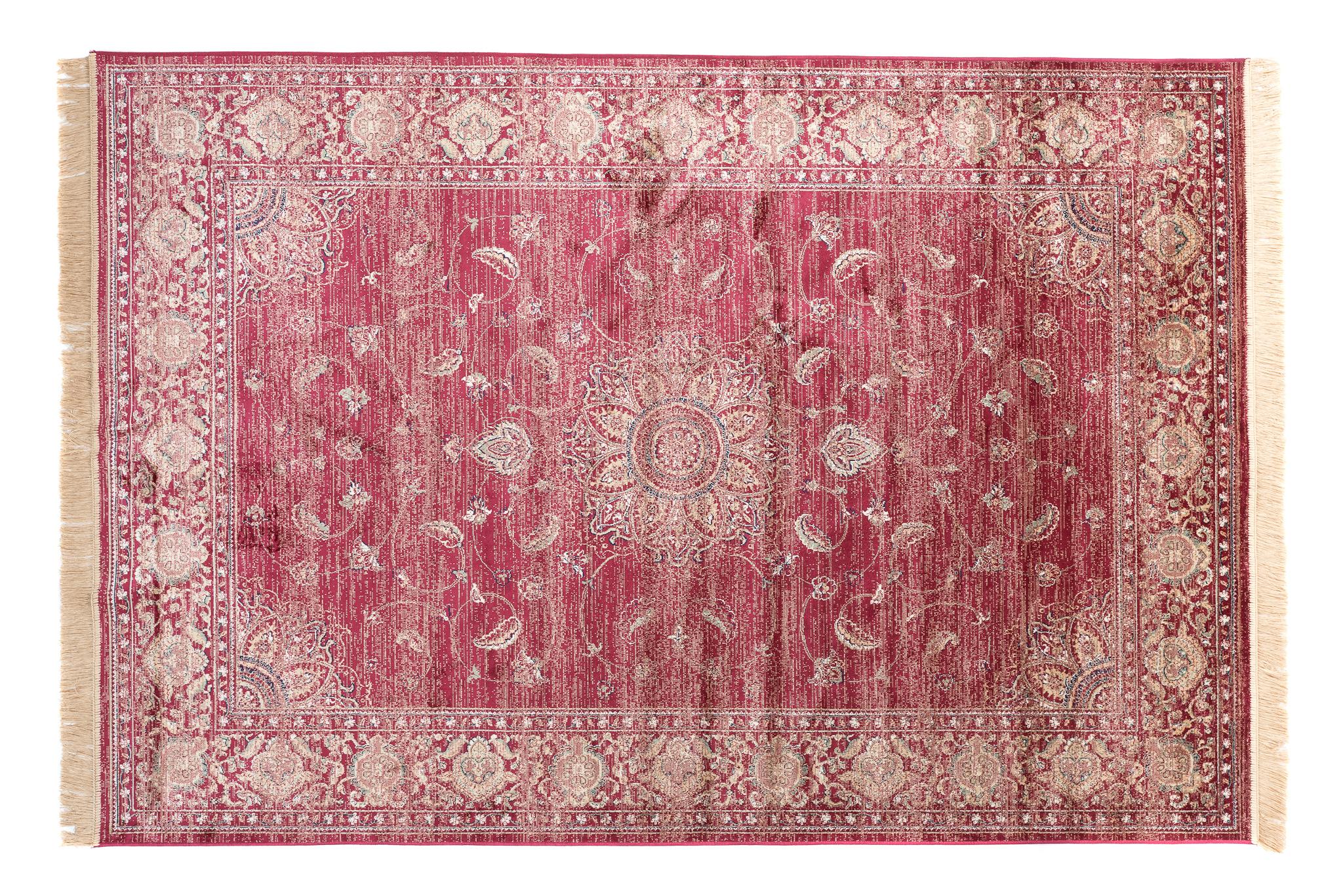 Dywan tradycyjny Isphahan 84281/43 czerwony