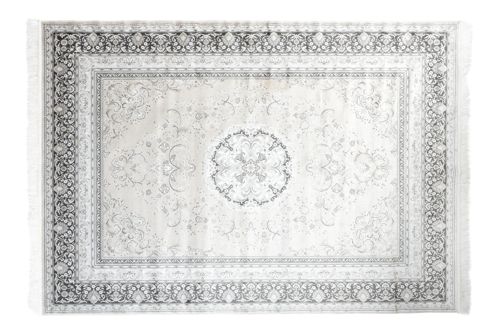 Dywan tradycyjny Isphahan 77919/573 Vison biały