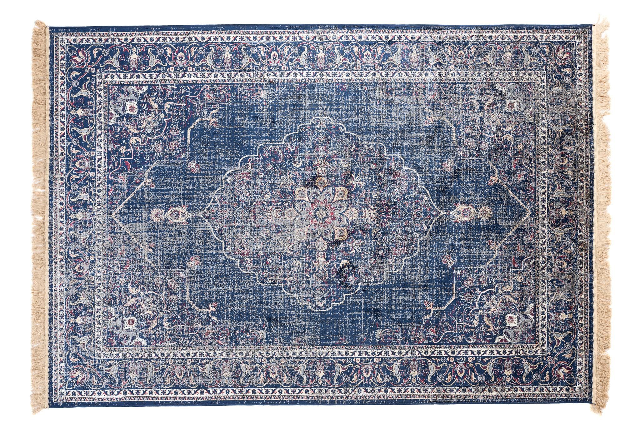 Dywan tradycyjny Isphahan 84279/51 niebieski