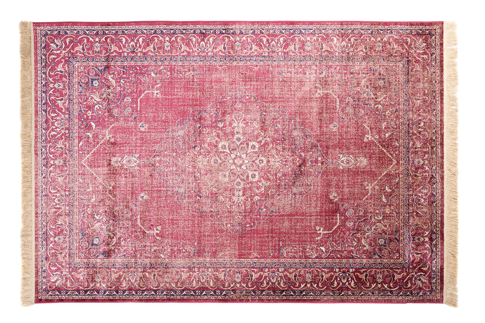 Dywan tradycyjny Isphahan 84279/43 czerwony