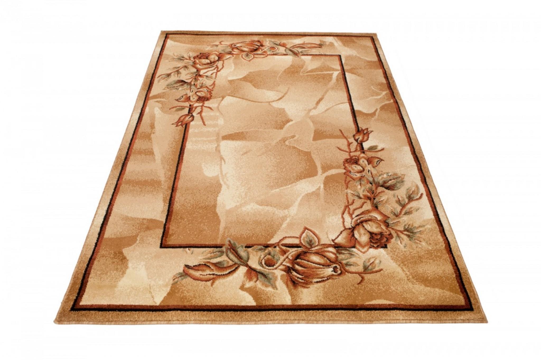Dywan Antogya 7130 brown brązowy » Dywany nowoczesne