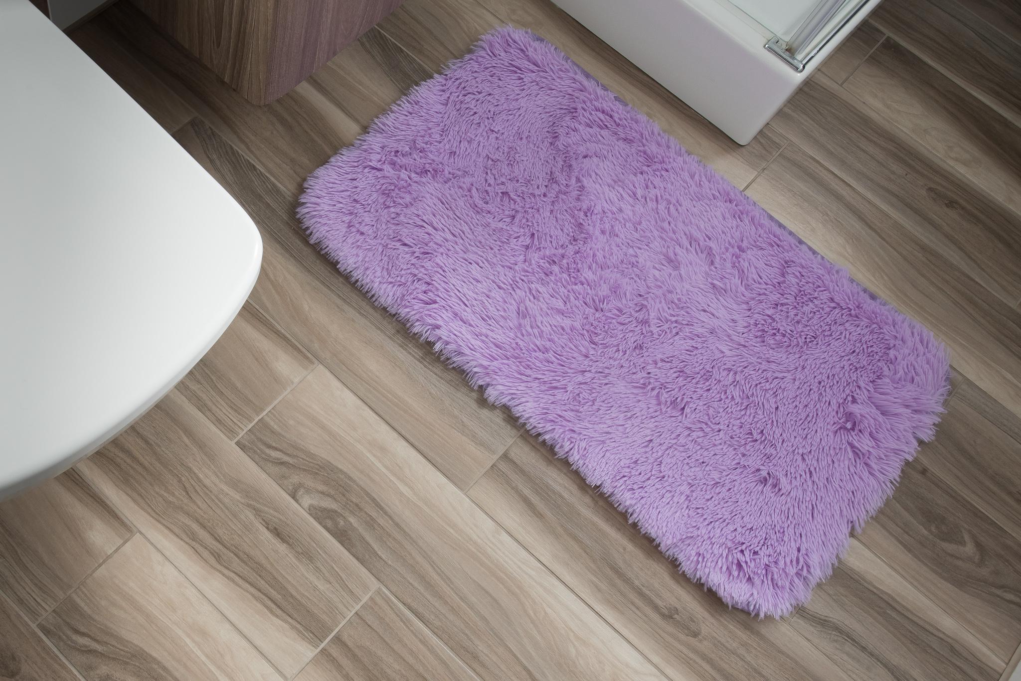 Dywan łazienkowy SILK ARTS-61 1PC lilac