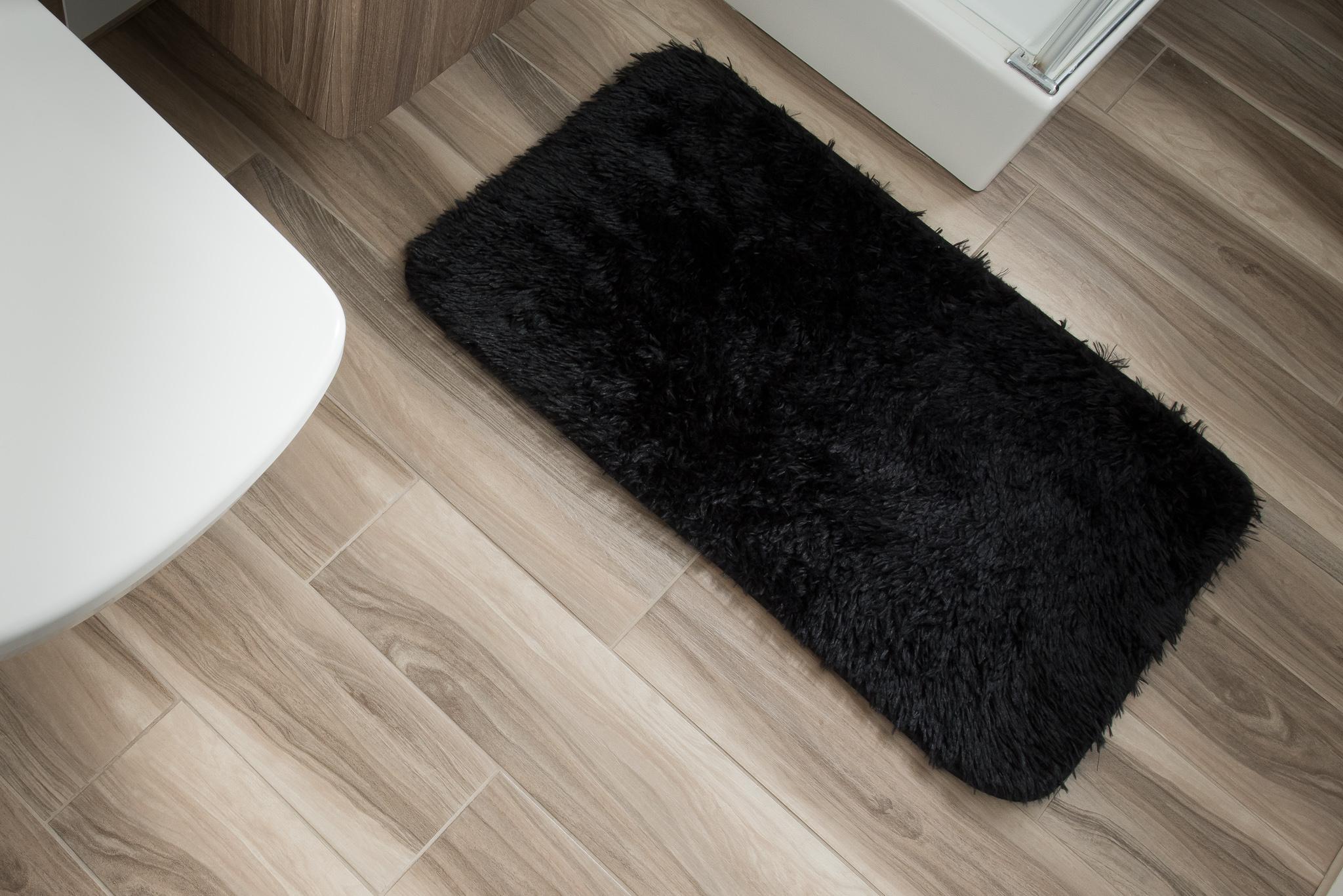 Dywan łazienkowy SILK ARTS-61 1PC czarny