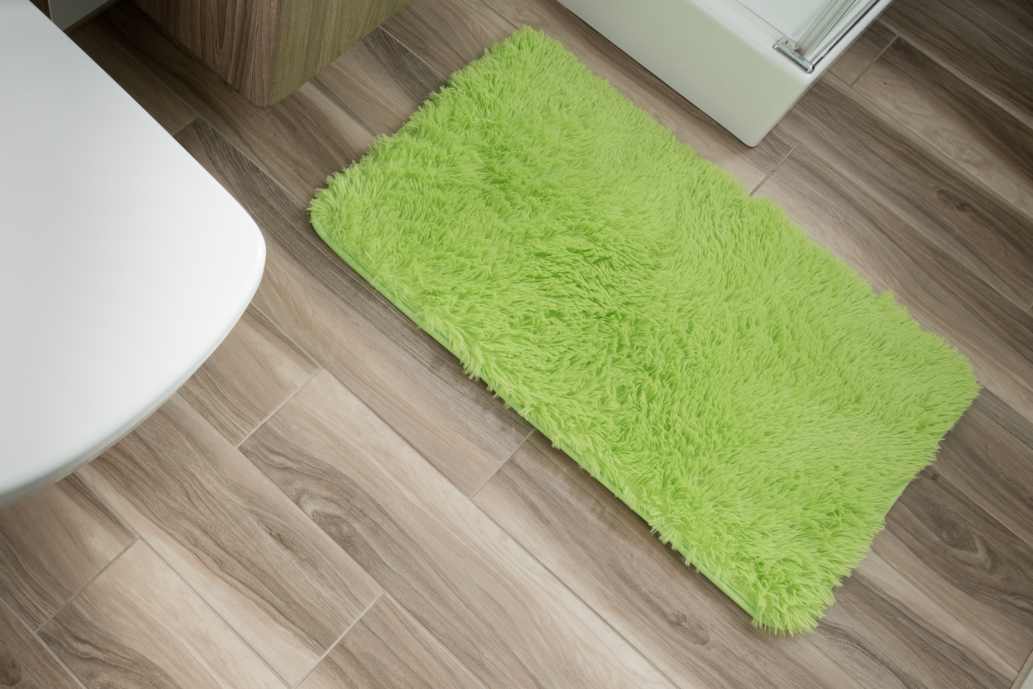 Dywan łazienkowy SILK ARTS-61 1PC zielony