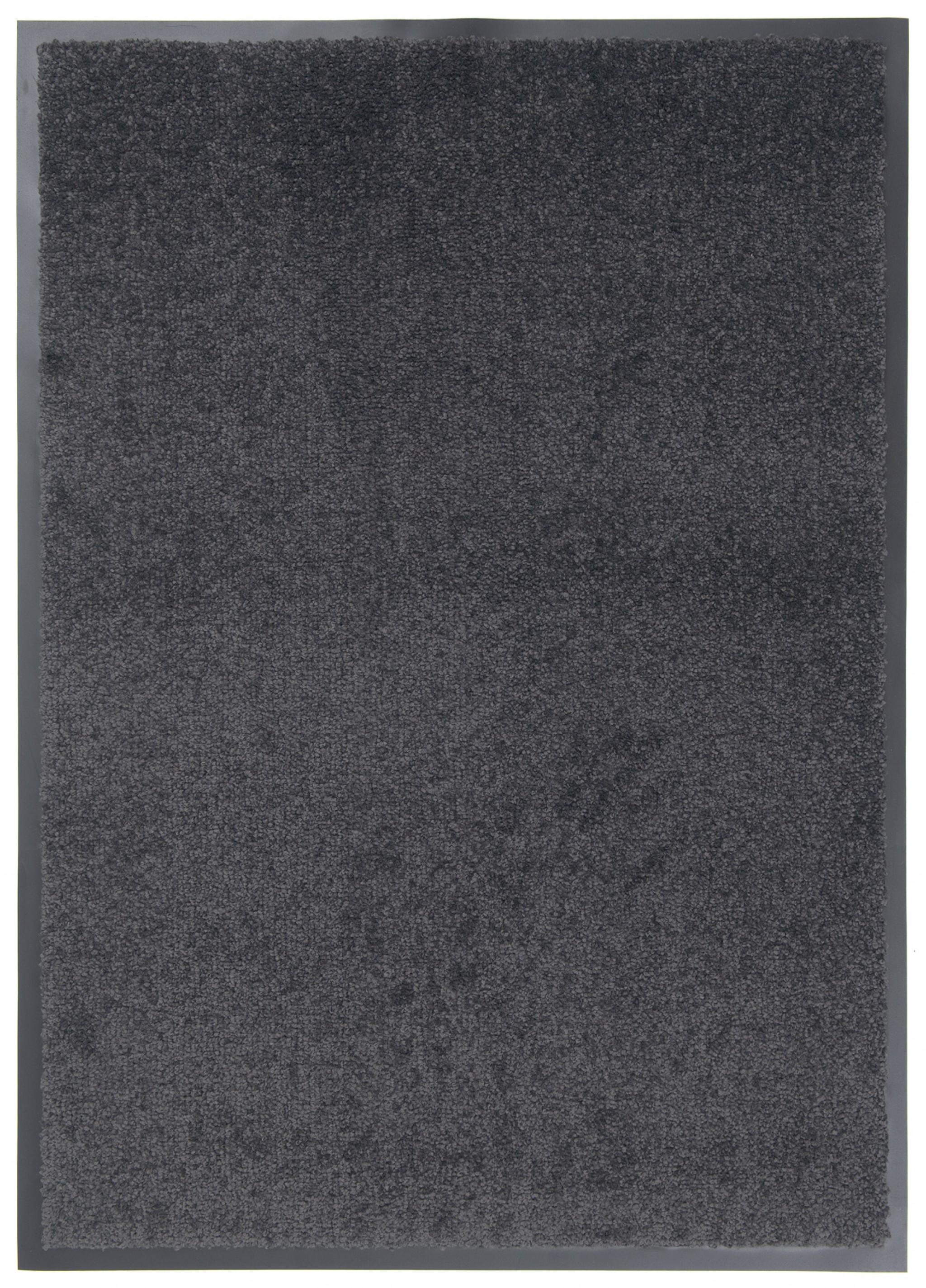 Wycieraczka materiałowa Memphis 373 Antra CM - border 1,5 cm czarny