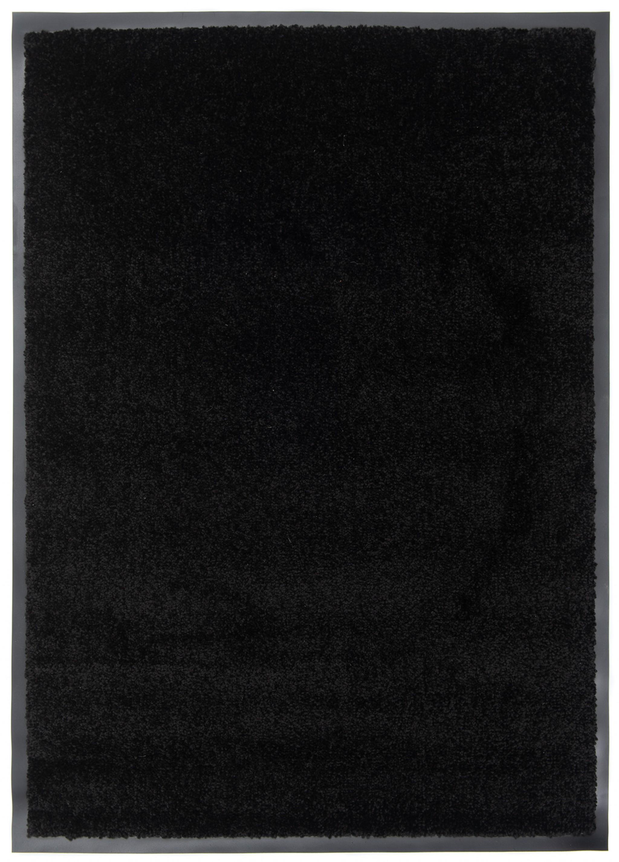 Wycieraczka materiałowa Memphis 78 CM - border 1,5 cm czarny