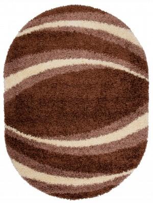 Dywan LOCA  9177A DARK BROWN OV  dywany promocja