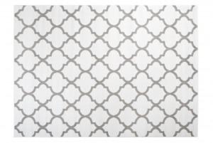 Dywan nowoczesny FIRET Q043A ESM biały