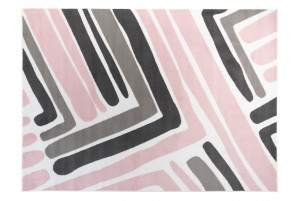 Dywan dziecięcy Z661B PINKY EWL biały
