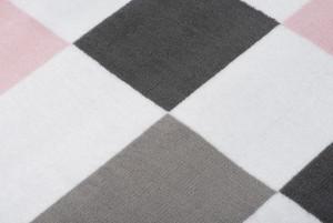 Dywan dziecięcy Z658A PINKY EWL biały
