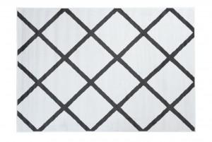 Dywan nowoczesny L889E LUXURY PP ESM biały