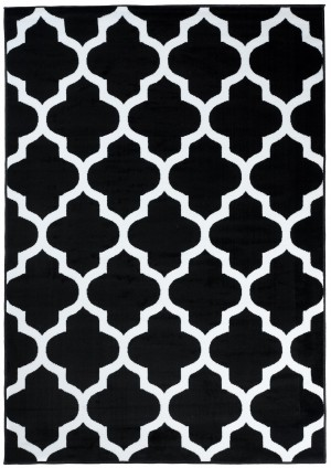 Dywan FIRE  10225 BLACK WHITE  dywany promocja