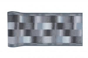 Chodnik nowoczesny 90 IKAT MIGO ( GRANITE ) - szary