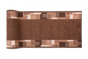 Chodnik nowoczesny 44 MONTANA MINI GOLII (HAVANNA) - brązowy