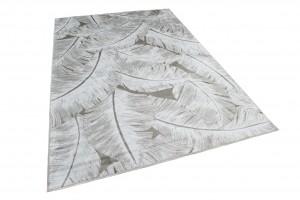 Dywan tradycyjny Isphahan 84308/660 Vison/Silver biały