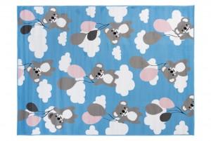 Dywan dziecięcy PINKY KOALA niebieski