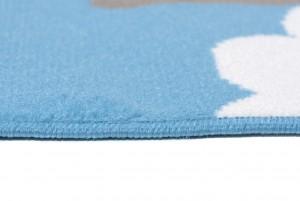 Dywan dziecięcy DE79B PINKY EWL niebieski