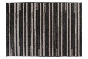 Dywan sznurkowy FLOORLUX 20384 / Silver czarny