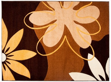 Dywan nowoczesny 8620A FIRUZE jasno-brązowy