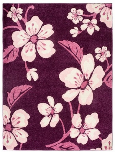4396A DARK VIOLET FIRUZE  dywany promocja