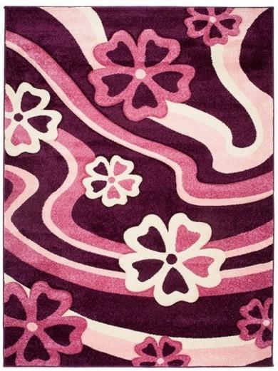 Dywan FIRUZE  4402A DARK VIOLET  dywany promocja