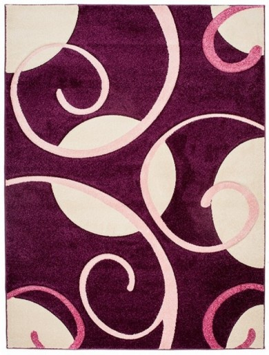 4786A DARK VIOLET FIRUZE  dywany promocja