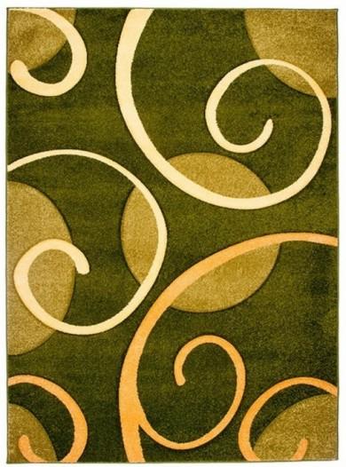 4786A GREEN FIRUZE  dywany promocja