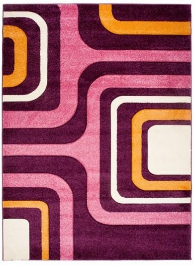 8605A DARK VIOLET FIRUZE  dywany promocja