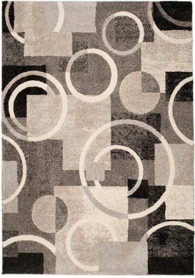 Dywan ELIF  2840A DARK GRAY  dywany promocja
