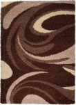 Dywan RIO  3741A DARK BROWN