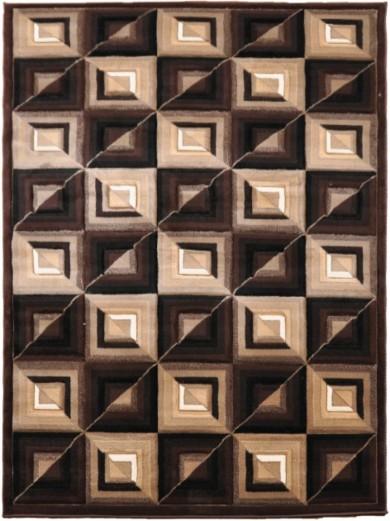 Dywan FAUST  5913B DARK BROWN  dywany promocja