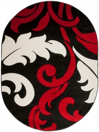 Dywan FIRUZE OV  2715A BLACK FQX  dywany promocja