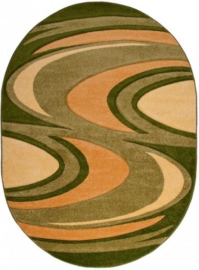 3708A GREEN FIRUZE OV  dywany promocja
