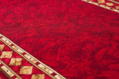 Chodnik podgumowany 10 CHEOPS T - bordo czerwony