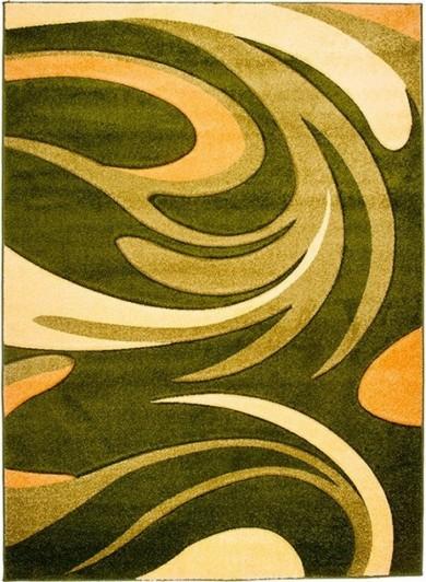 2641B GREEN LAZUR  dywany promocja