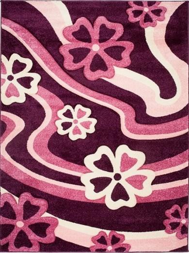 4402A DARK VIOLET LAZUR  dywany promocja