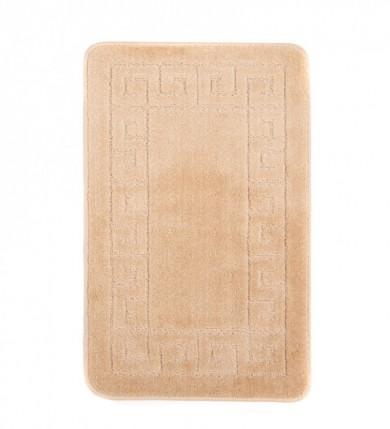 Dywaniki łazienkowe (GRECKI)  1030 BEIGE (1422) MONO 1PC