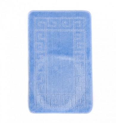 Dywaniki łazienkowe (GRECKI)  1030 BLUE (5004) MONO 1PC