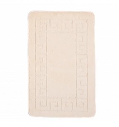 Dywaniki łazienkowe (GRECKI)  1030 CREAM (1613) MONO 1PC