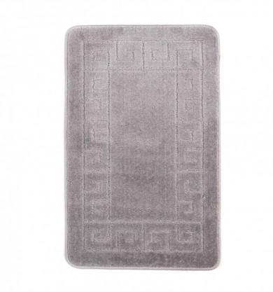 Dywaniki łazienkowe (GRECKI)  1030 GREY (6213) MONO 1PC