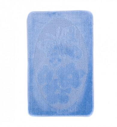 Dywaniki łazienkowe (MOTYL)  1125 BLUE (5004) MONO 1PC