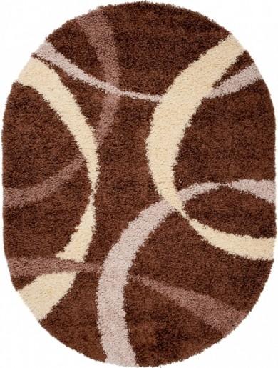 Dywan RIO  7368A DARK BROWN OV  dywany promocja