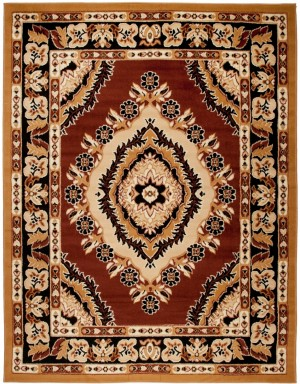 Dywan PP  4493B BROWN ATLAS
