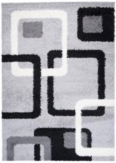 Dywan TSK  5452A L.GREY/BLACK 37 PORTO  dywany promocja