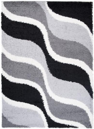 5464A L.GREY/BLACK 37 PORTO TSK  dywany promocja