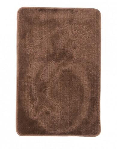 Dywaniki łazienkowe (DELFIN)  XXXX BROWN (1422) MONO 1PC
