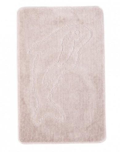 Dywaniki łazienkowe (DELFIN)  XXXX PASTEL (6213) MONO 1PC
