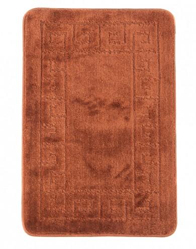 Dywaniki łazienkowe (GRECKI)  1030 NEW BROWN (4605) MONO 1PC