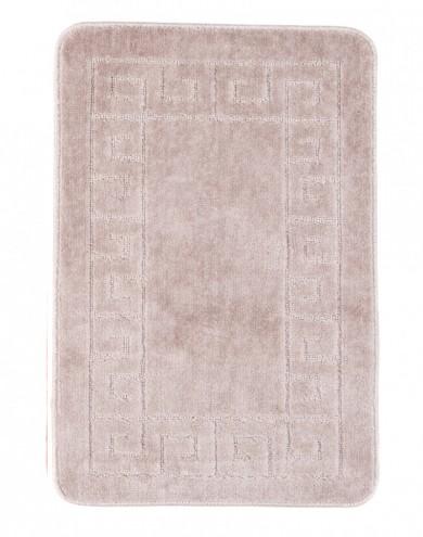 Dywaniki łazienkowe (GRECKI)  1030 PASTEL (5004) MONO 1PC