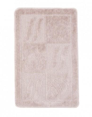 Dywaniki łazienkowe (BANAN)  1107 PASTEL (3305) MONO 1PC
